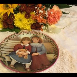 Sisters Are Blossoms Collectors Plate